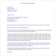 25 complaint letter templates free word samples examples