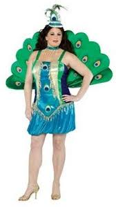 Halloween Peacock Costume 42 Size Costumes Womens Images