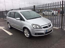 2007 vauxhall zafira 1 9 litre diesel 5dr 7 seater 1 owner in