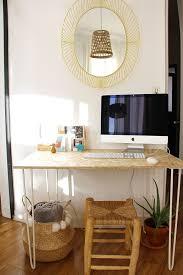 fabriquer bureau un bureau osb handmade très simple à réaliser hairpin legs