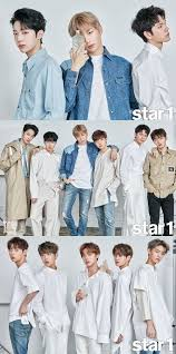 Wanna One Wanna One Pose For The Cover Of Star1 Allkpop