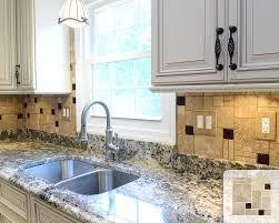 Brown Glass Tile Backsplash by Brown Glass Tile Backsplash Kitchen Transitional With Brown Glass
