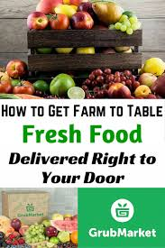 fruit delivered to your door how to get farm to table fresh food delivered right to your door