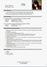chartered accountant resume chartered accountant resume over and resume samples with free