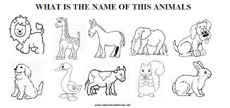 wild animals worksheets for kindergarten www mindsandvines com