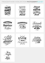 friendship quote photo frame friendship word overlays photographypla net