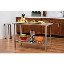 Stainless Kitchen Table by Trinity Ecostorage Stainless Steel Table Free Shipping Today