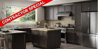 grey stained shaker kitchen cabinets luxor smokey gray shaker rta kitchen cabinets unassembled