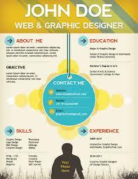 Resume Template Psd Beautiful Decoration Interactive Resume Template Impressive Top 27