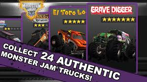 grave digger mini monster truck go kart monsterjam android apps on google play
