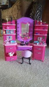 Vanity Playset Gloria Doll Furniture Size Kitchen W Oven Sink Playset For Barbie