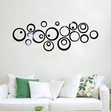 online get cheap circle mirror wall decals aliexpress com