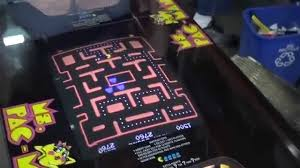 643 bally midway ms pacman cocktail tabel 1981 original