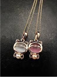 gold plated statement necklace images Fashion gold plated cat statement necklace jpg