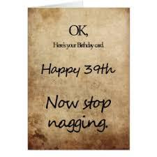Happy 39th Birthday Wishes 39th Birthday Wishes Greeting Cards Zazzle