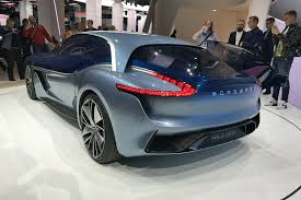 jeep sports car concept borgward isabella sports car concept electric suv reality by car