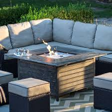 Firepit Patio Table Outdoor Patio Furniture With Gas Pit Outdoor Designs