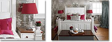 red bedrooms from country to castle
