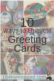 Repurpose Upcycle - ways to upcycle holiday cards after the season repurpose