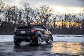 land rover convertible review 2017 range rover evoque convertible canadian auto review