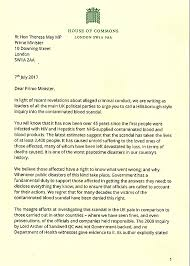 joint letter signed by 6 opposition party leaders requesting