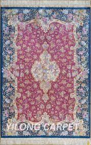Area Rug Materials Pink Rug Turkish Carpet Silk Rug Tabriz Rugs