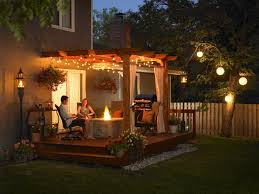 28 gazebo lighting ideas and projects for your backyard interior