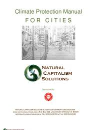 climate protection manual cities global warming climate change
