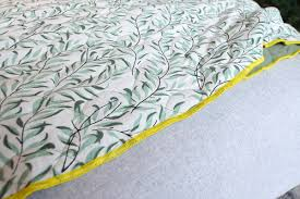 Organic Cotton Duvet Cover Reversible Organic Cotton Quilts Natural Bed Company