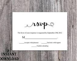wedding rsvps wedding rsvp cards wedding response cards editable
