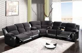 Sectional Recliner Sofas Microfiber Viol Microfiber Reclining Sectional Reclining Sofa Room Ideas