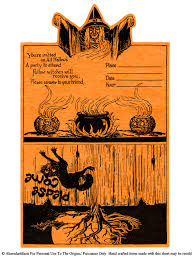 vintage halloween graphic altered artifacts more free vintage halloween printables