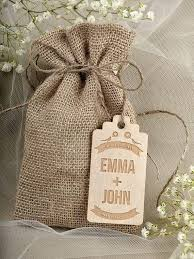 wedding favor bag mini palm leaf favor bag 10 pcs personalized burlap wedding favor