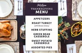 complete farmhouse delivery thanksgiving menu farmhouse delivery
