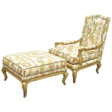 nancy corzine country french louis xv style bergere lounge chair