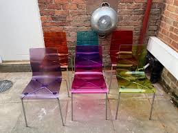 Perspex Dining Chairs Sold Lewis Coloured Perspex Dining Chairs In Chester