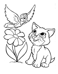 kittens coloring pages
