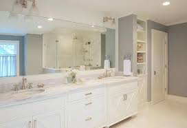bathrooms with white cabinet white and gray master bathroom with x