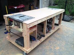 Tool Bench For Garage Best 25 Garage Workbench Plans Ideas On Pinterest Garage Bench