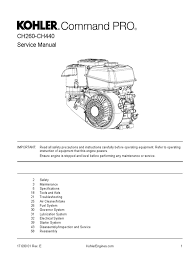 ch270 ch395 ch440 carburetor gasoline