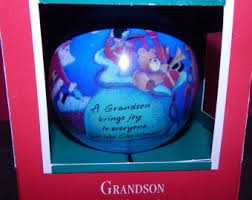 grandson ornament etsy