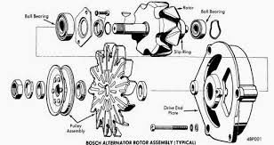 repair manuals bosch alternators 1963 74 models