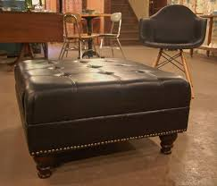 best 25 large leather ottoman ideas on pinterest tufted leather
