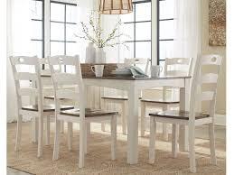 ashley kitchen table set ashley woodanville dining room table set 7 cn d335 425 portland