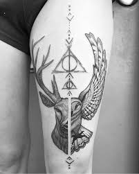 image result for harry potter cool tattoos