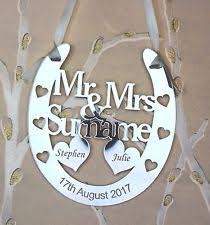 horseshoe wedding gift wedding horseshoe ebay