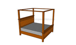 Free Plans To Build A Queen Size Platform Bed by How To Build A Storage Bed Frame Howtospecialist How To Build