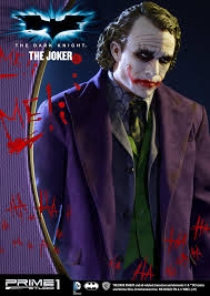 Dark Knight Joker Halloween Costume The Dark Knight 1 2 Scale The Joker Statue By Prime 1 Studio
