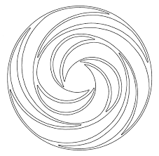swirl coloring pages kids coloring