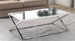 coffee tables beautiful round coffee table glass metal trendy